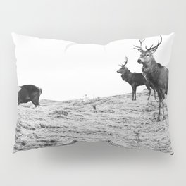 Stags on the hill Pillow Sham