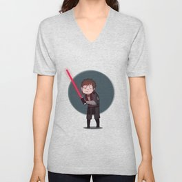 Darth Hideous Unisex V-Neck