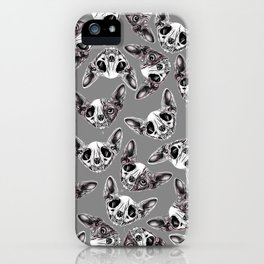 Shynx Half Skull Pattern iPhone Case
