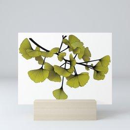 Gingko Green Mini Art Print