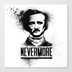 Nevermore! Canvas Print