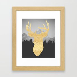 Mountain Life Print Framed Art Print