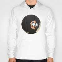 afro Hoodies featuring Venus Afro by Vin Zzep