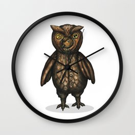 Owlark Wall Clock