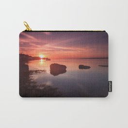 Loughor Estuary sunset Carry-All Pouch