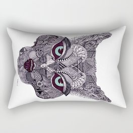 'Wolf' by Tameka Westerland.  Rectangular Pillow