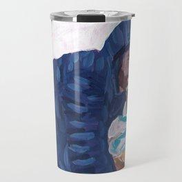 Ben Affleck with Mail & Dunkin'  Travel Mug