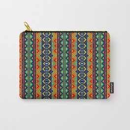African tribal geometric pattern Carry-All Pouch
