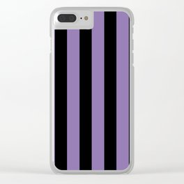 Striped For Life Clear iPhone Case