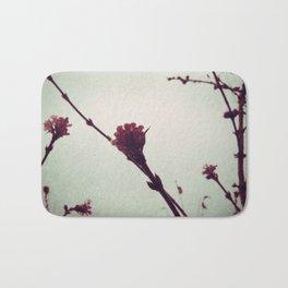 Winter Blossom I Bath Mat