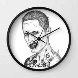Suicide / Squad - Joker Portrait Wall Clock