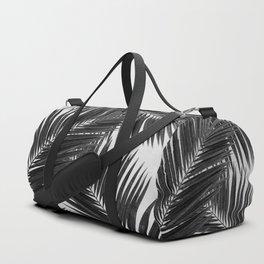 Palm Leaf Black & White III Duffle Bag