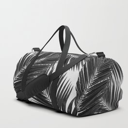 Palm Leaf Black & White III Duffle Bag
