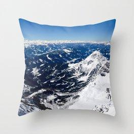 Infinite Blueness Throw Pillow