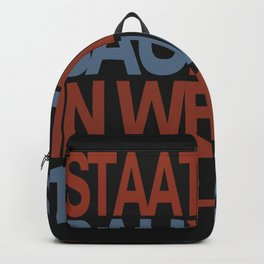 Bauhaus Poster Backpack