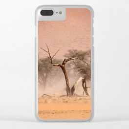 NAMIBIA ... through the storm I Clear iPhone Case