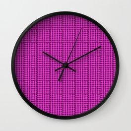 violet fantasy Wall Clock