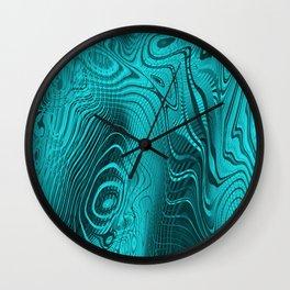 Whirlpool Waters Wall Clock