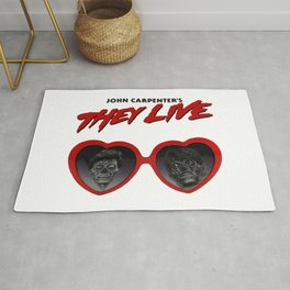 Love They Live Rug