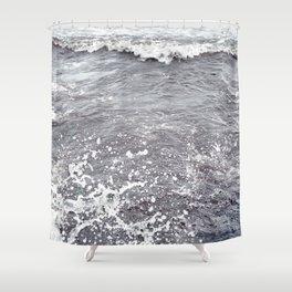 Water Flows Shower Curtain