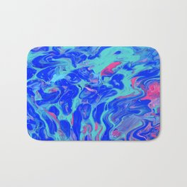 Paint Pouring 31 Bath Mat
