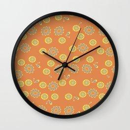 Anemoia, pattern version 2 Wall Clock