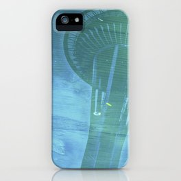 Space Needle - Infinitek Headquarters Seattle iPhone Case