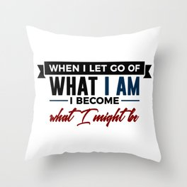 Realize Your Potential Throw Pillow