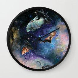 Scream of a Great Bat Wall Clock