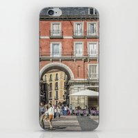 real madrid iPhone & iPod Skins featuring Relaxing cup, Madrid by Solar Designs