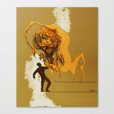 Creature Concept Canvas Print