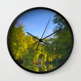 Jean-Drapeau Pond Wall Clock