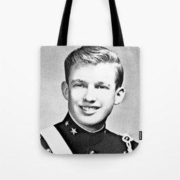 Donald Trump - 1964 New York Military Academy Tote Bag