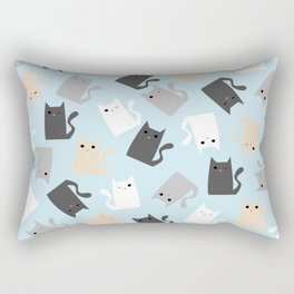 Scattercats Rectangular Pillow
