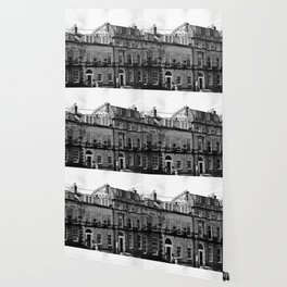 Edinburgh, Scotland Quaint City Homes Wallpaper