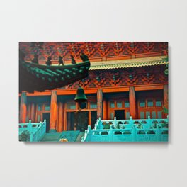 Jing'an Temple - Shanghai Metal Print