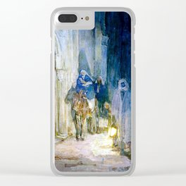Henry Ossawa Tanner Flight into Egypt Clear iPhone Case