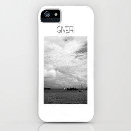 Giver Baddeck! iPhone Case