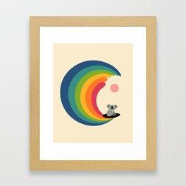 Dream Surfer Framed Art Print