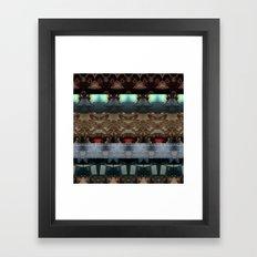 NOWHERE nothing Framed Art Print