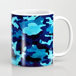 Camouflage (Blue) Coffee Mug