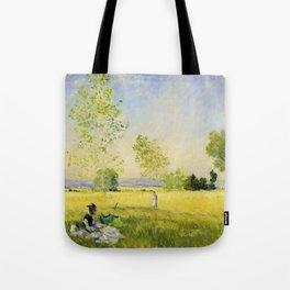12,000pixel-500dpi - Claude Monet - Summer - Digital Remastered Edition Tote Bag