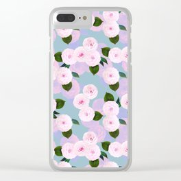 The Camellia Theory Clear iPhone Case
