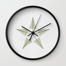 Star Lake Wall Clock