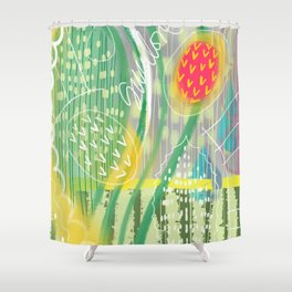 SuccuLove Shower Curtain
