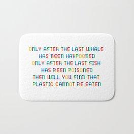 The last Fish Bath Mat