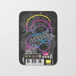 Music Coaster Bath Mat
