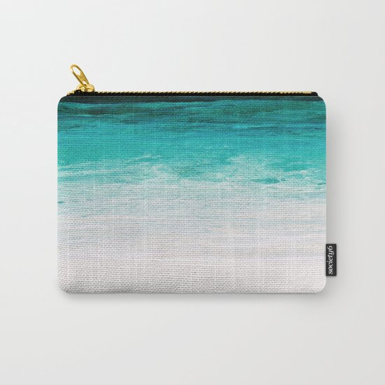Shades of the Ocean Carry-All Pouch