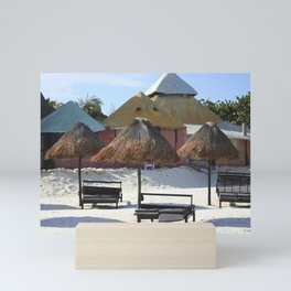 Carribean sea 16 Mini Art Print
