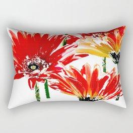 Pink Daisies Rectangular Pillow